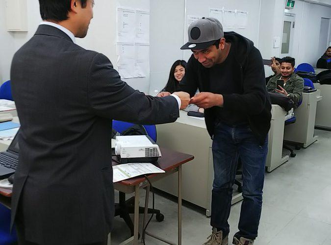 JAVA試験合格者表彰